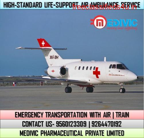Miraculous Medical Support by Medivic Air Ambulance Services in Jabalpur