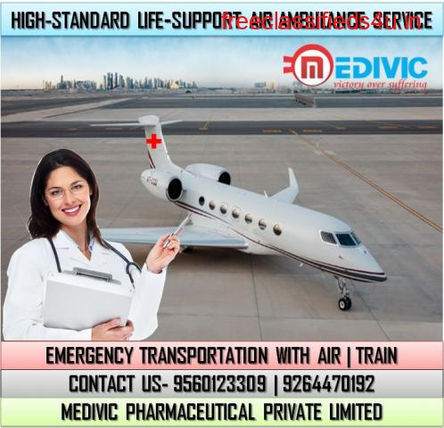 Get the Advantage of World-Class Air Ambulance Services in Lucknow