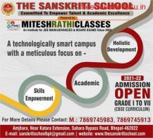 Best CBSE School In Bhopal - The Sanskriti School Admission Open 2021