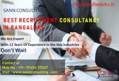 Sann Consulting Recruitment Consultancy Bangalore