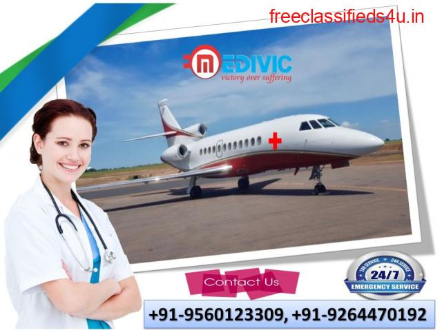 Take Amazing ICU Support by Medivic Air Ambulance Services in Agra