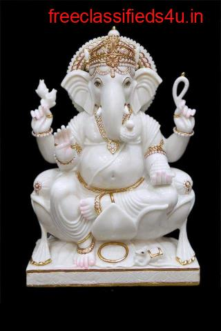Marble Ganesh Statue Supplier in India