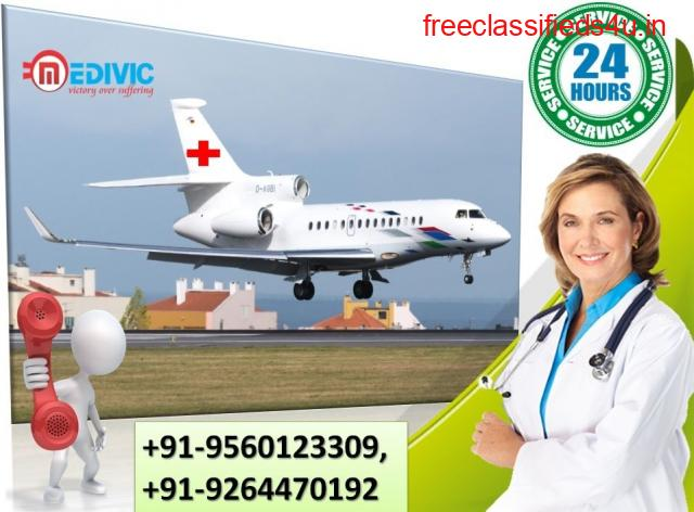 Pick Considerable Air Ambulance Services in Bhubaneswar by Medivic