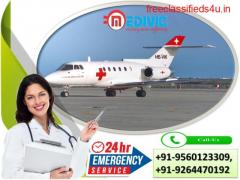 Superlative Air Ambulance Services in Bhopal with Hi-tech ICU Setup