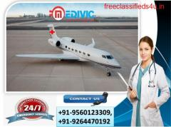 Take Superb Shifting by Medivic Air Ambulance Services in Bilaspur