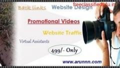 Get a fully functional Website design One page-Arunnn