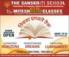 The Sanskriti School, Best Cbse School in Bhopal, Admission Open