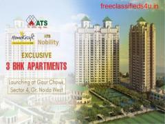 Buy 2/3BHK ATS HomeKraft Nobility Premium apartments in Greater Noida
