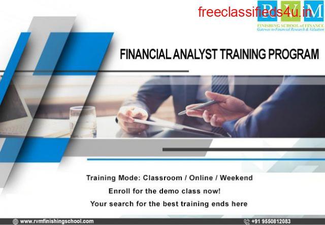 RVM offers certification & training programs in Financial Analyst