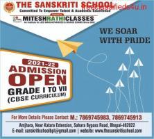 The Sanskriti School Admission Open in Bhopal, Best Cbse School
