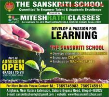 Admission Open,The Sanskriti School.