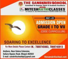 The Sanskriti School, Best in Bhopal, Admission Open