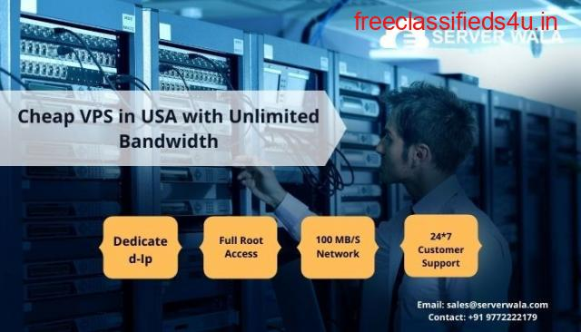 Cheap VPS in USA with Unlimited Bandwidth