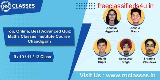 Top, Online, Best Advanced Quiz Maths Classes Institute Course in Chandigarh
