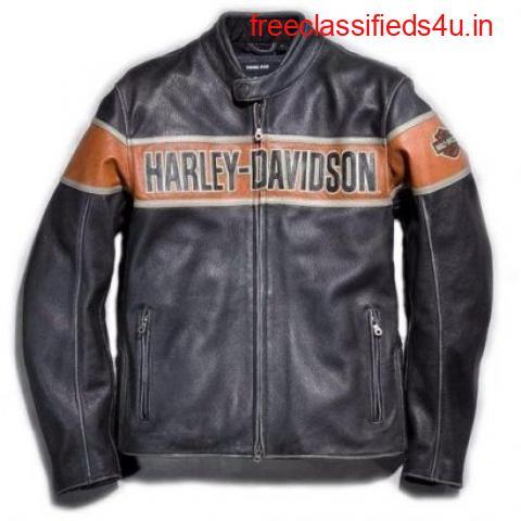 Harely Davidson men Leather Jackets
