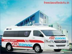 Take Paramount Ambulance Service in Muzaffarpur with ICU by Medivic
