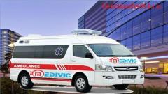 Hire Ventilator Ambulance Service in Madhubani with Doctor Facility
