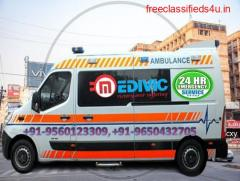 Hire Medical Support Ambulance Service in Samastipur at Low-Budget