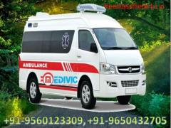 Book Superior and Budget-Friendly Ambulance Service in Purnia by Medivic