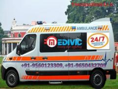 Hire ICU Ambulance Service in Sitamarhi at Very Low-Budget by Medivic