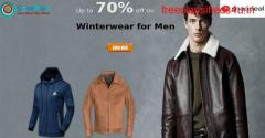 SnapDeal Coupons, Deals & Offers: Up to 70% off Winterwear for Men