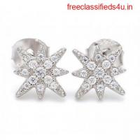 Best Star Shaped Earrings Online in India at Ornate Jewels