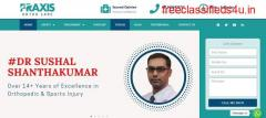 Best Shoulder Specialist in Bangalore   Dr.Sushal Shanthakumar   Praxis Ortho Care