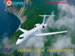 Book Hi-Tech Air Ambulance Services in Patna with MD Doctor by Medivic