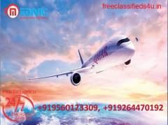 Take Credible Air Ambulance Services in Kolkata with ICU by Medivic