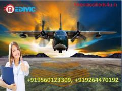 Take Ventilator Air Ambulance Services in Bangalore with Doctor by Medivic