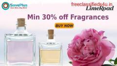 LimeRoad Coupons, Deals, sales , and Codes: Min 30% off Fragrances