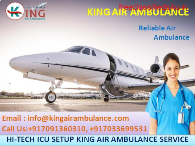 King Air Ambulance Services in Guwahati for Best Patient Shifting