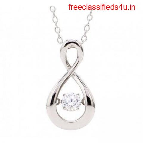 Buy Infinity Pendant Necklace Online in India at Ornate Jewels