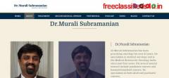 Best Breast Cancer Doctor in Bangalore | Dr.Murali Subramanian
