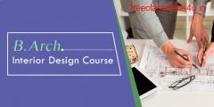 B. Arch Interior Design Course Job & Salary