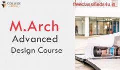 M.Arch Advanced Design Course Colleges & Placements