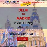 Get 24*7 live shipment rates from Zipaworld