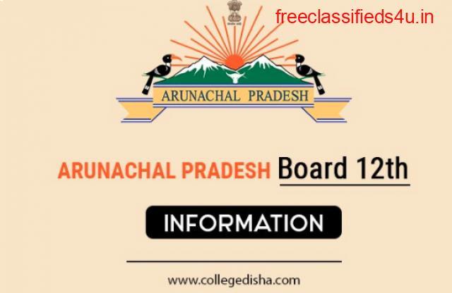ARUNACHAL PRADESH BOARD 12TH