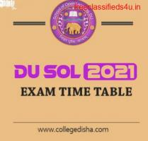 DU SOL Exam Date