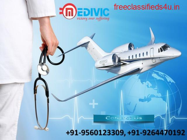 Get Outstanding Life-Savior Air Ambulance in Allahabad by Medivic