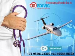 Take High-Class Emergency Air Ambulance in Bhopal by Medivic