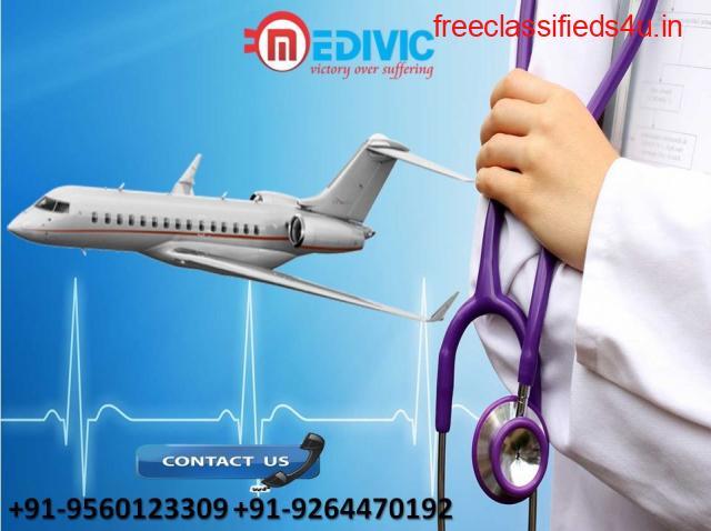 Appropriate ICU Care by Medivic Air Ambulance in Dibrugarh