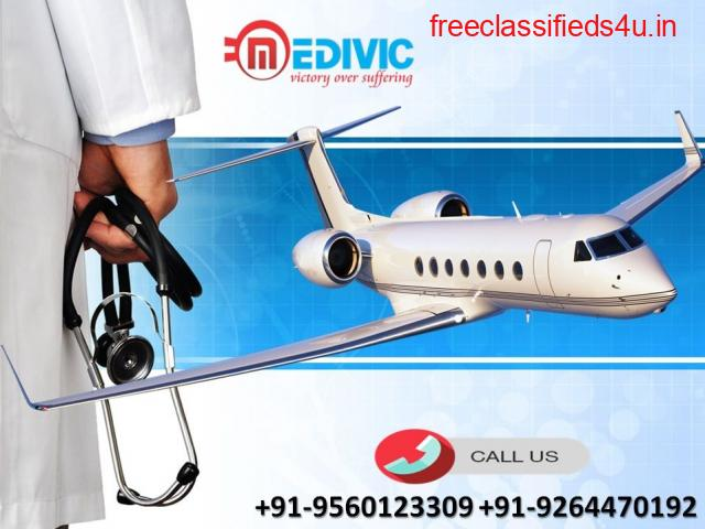 Perfect Emergency Solution by Medivic Air Ambulance in Nagpur