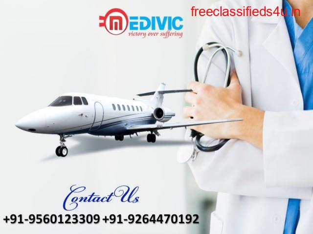 Supersonic Medical Amenity by Medivic Air Ambulance in Vellore