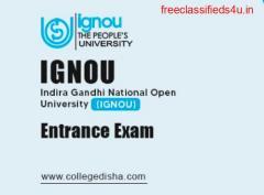 IGNOU Entrance Registration Form