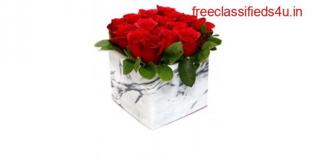 Order Red Roses Box Bouquet to Propose Her
