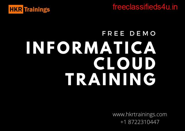 Learn Informatica Cloud Online Training from our industry experts