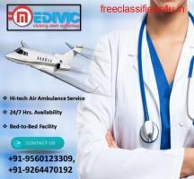 Get Affordable Lifesaver Air Ambulance in Chennai by Medivic