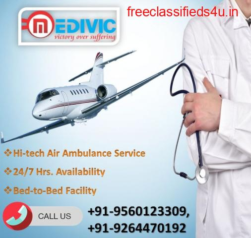 Use Medivic Air Ambulance in Lucknow with Expert Physician