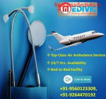 Highest Prominence on Safety by Medivic Air Ambulance in Varanasi